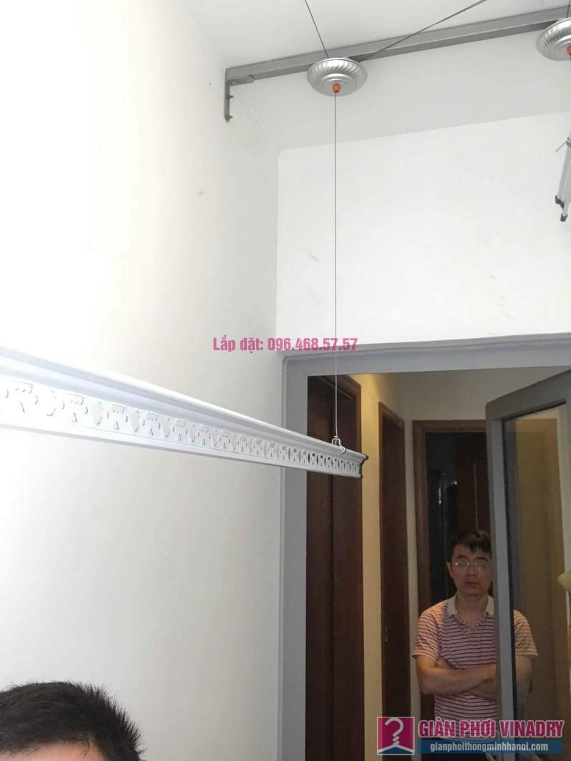 Lắp giàn phơi quần áo thông minh nhà anh Hải, Park5, Park Hill Times City - 04