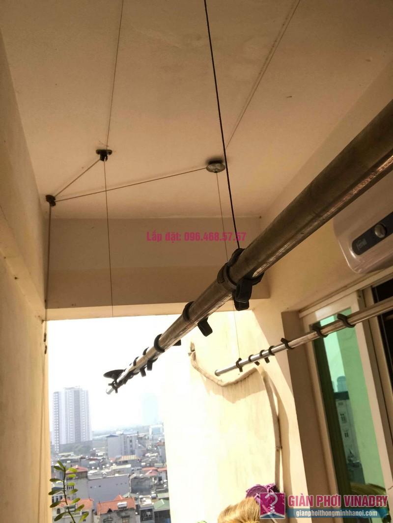 Sửa giàn phơi thông minh nhà anh Nam, chung cư 789 Bộ Quốc Phòng, Nam Từ Liêm, Hà Nội - 04