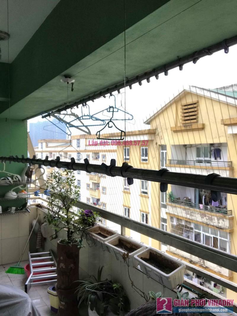 Sửa giàn phơi quần áo giá rẻ nhà chị Nhi, chung cư CT5, KĐT Mễ Trì Thượng, Nam Từ Liêm, Hà Nội- 05