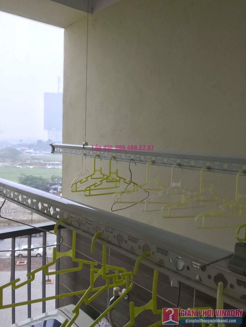 Thay dây cáp giàn phơi thông minh nhà anh Thiêm, chung cư CT1 Trung Văn, Vinaconex 3 - 05