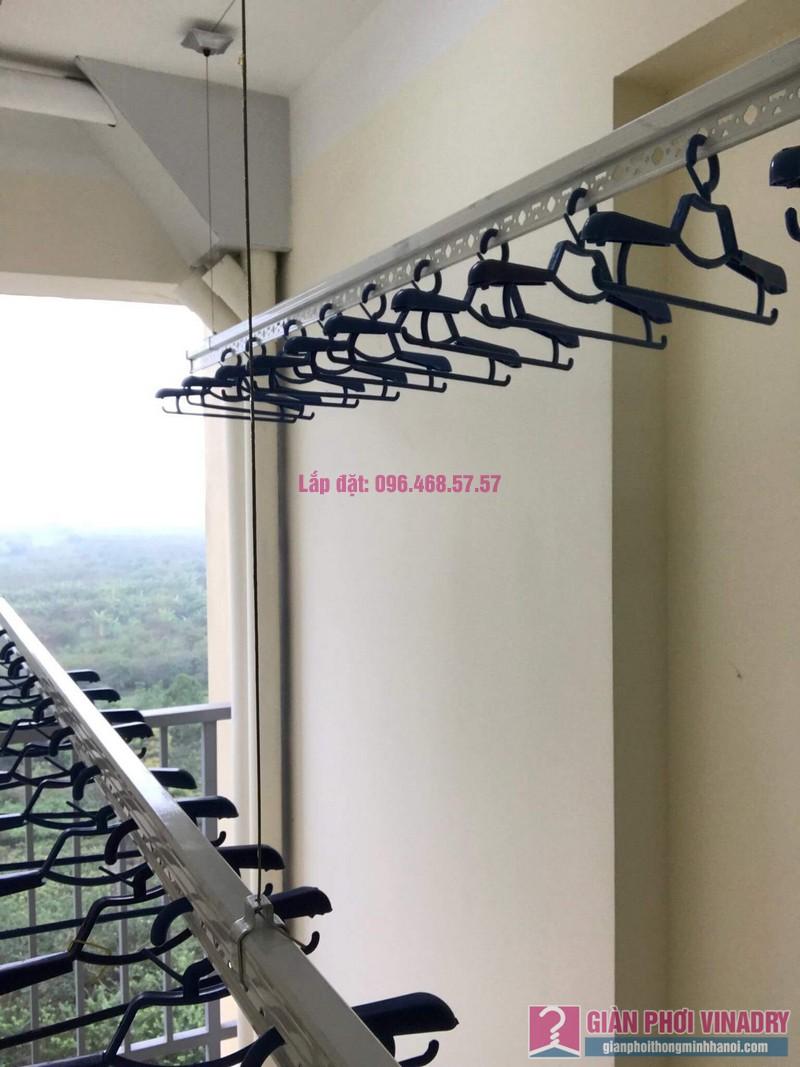 Lắp giàn phơi nhà anh Đại, Nhà công vụ bộ tổng tham mưu, Trâu Qùy, Gia Lâm, Hà Nội - 05
