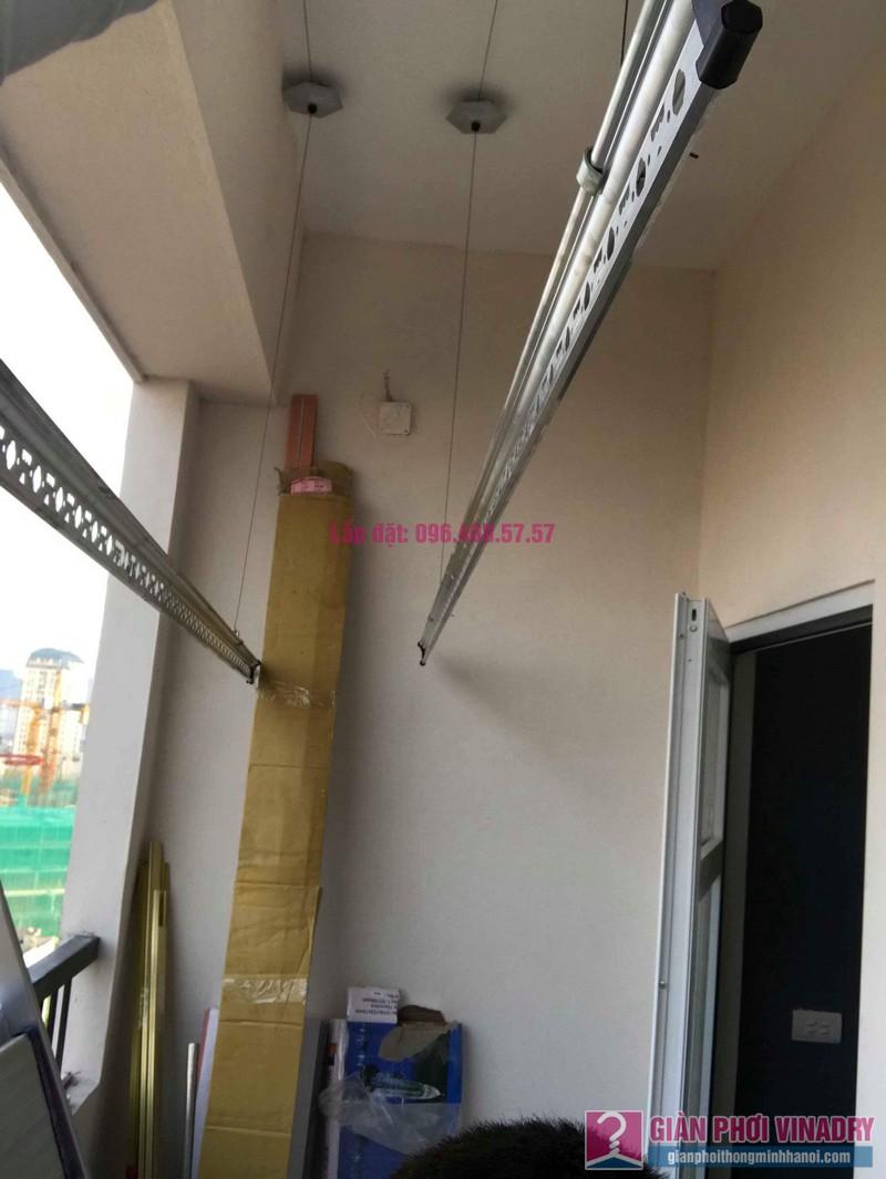 Lắp giàn phơi quần áo nhà chị Mai, chung cư Tăng Thiết Giáp, Đình Thôn, Nam Từ Liêm, Hà Nội - 05