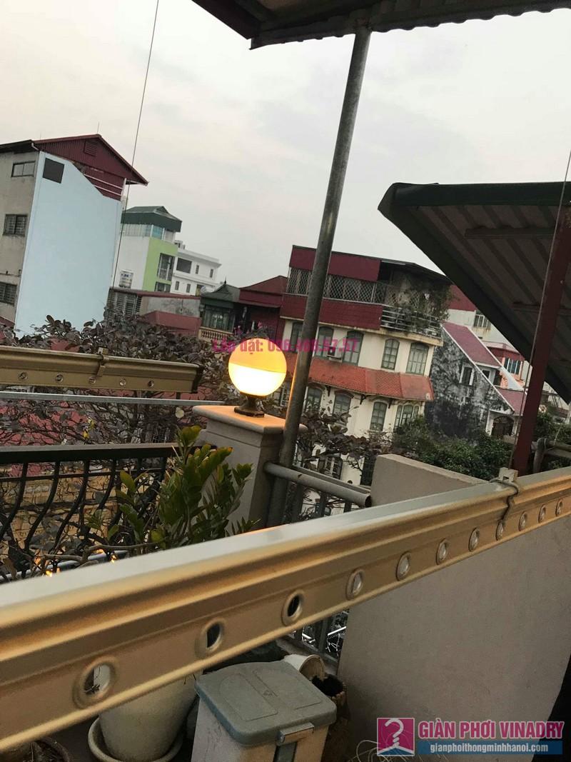 Sửa giàn phơi nhà anh Toàn, 58 Mã Mây, Hoàn Kiếm, Hà Nội - 05