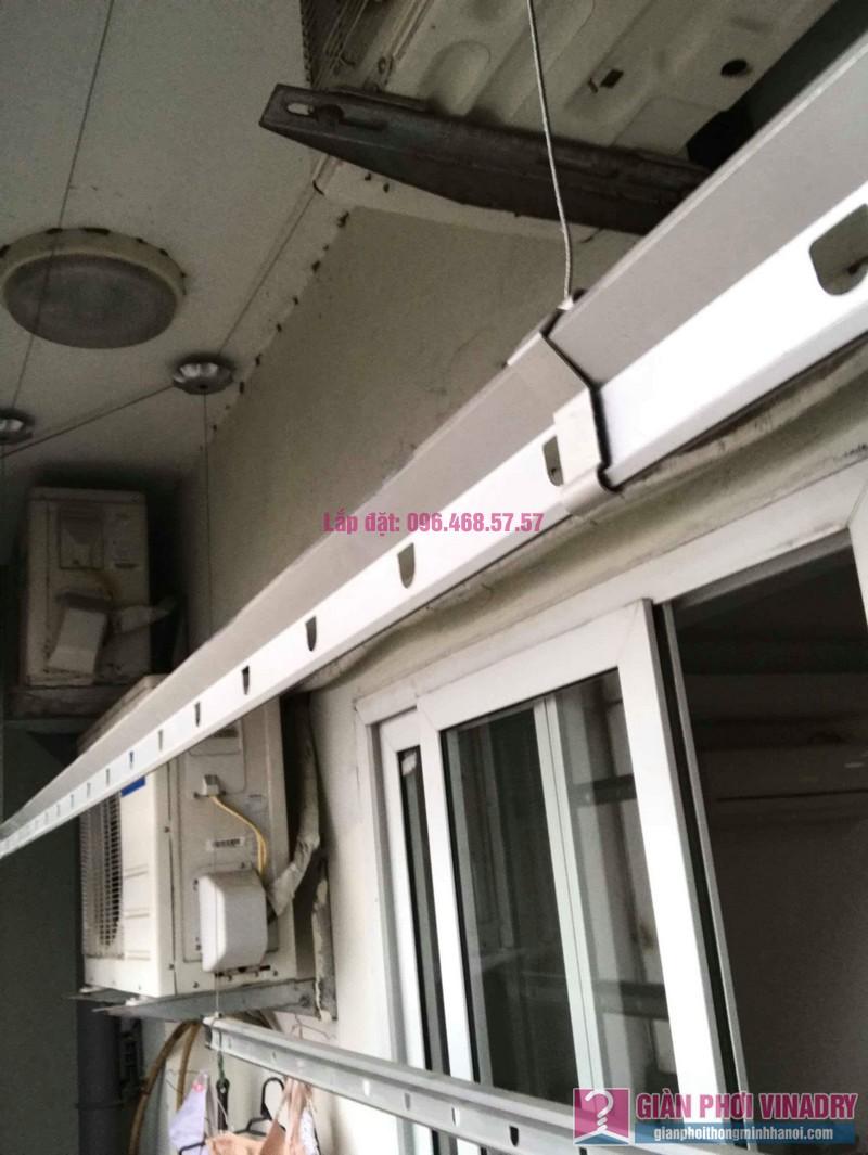 Sửa giàn phơi Hà Đông nhà chị Thắm, chung cư số 7 Trần Phú - 05