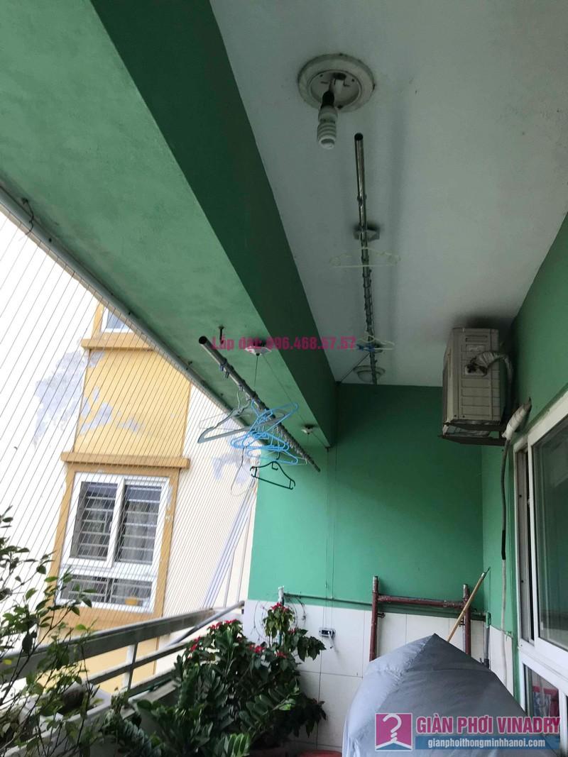 Sửa giàn phơi quần áo giá rẻ nhà chị Nhi, chung cư CT5, KĐT Mễ Trì Thượng, Nam Từ Liêm, Hà Nội- 06