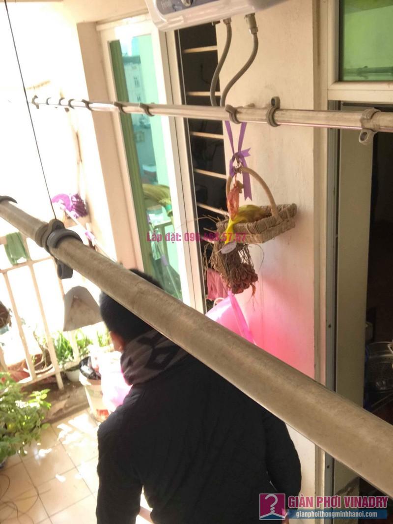 Sửa giàn phơi thông minh nhà anh Nam, chung cư 789 Bộ Quốc Phòng, Nam Từ Liêm, Hà Nội - 06