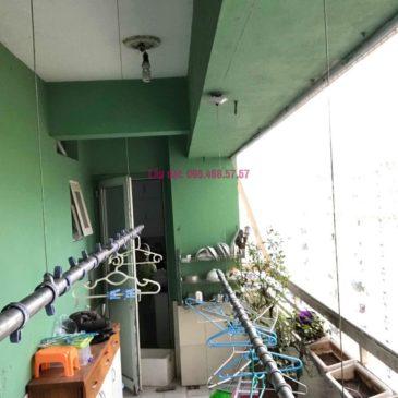 Sửa giàn phơi quần áo giá rẻ nhà chị Nhi, chung cư CT5, KĐT Mễ Trì Thượng, Nam Từ Liêm, Hà Nội