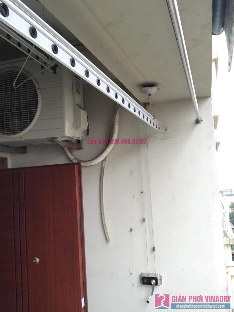 Thay dây cáp giàn phơi nhà chị Dung, Tòa CT10 chung cư Đại Thanh, Thanh Trì, Hà Nội - 07