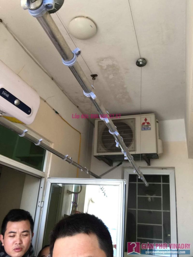 Sửa giàn phơi thông minh nhà anh Nam, chung cư 789 Bộ Quốc Phòng, Nam Từ Liêm, Hà Nội - 07