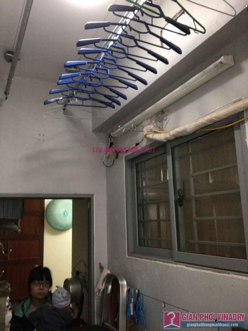 Sửa giàn phơi nhà chị Minh, chung cư CT19 Kiến Hưng, Hà Đông, Hà Nội - 07