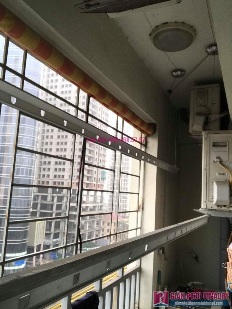 Sửa giàn phơi Hà Đông nhà chị Thắm, chung cư số 7 Trần Phú - 07