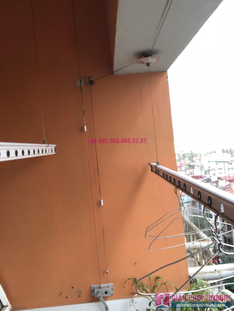 Sửa giàn phơi Duy Lợi, nhà chị Thanh, chung cư CT2B, KĐT Xa La, Hà Đông, Hà Nội - 01