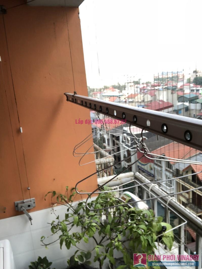 Sửa giàn phơi Duy Lợi, nhà chị Thanh, chung cư CT2B, KĐT Xa La, Hà Đông, Hà Nội - 03