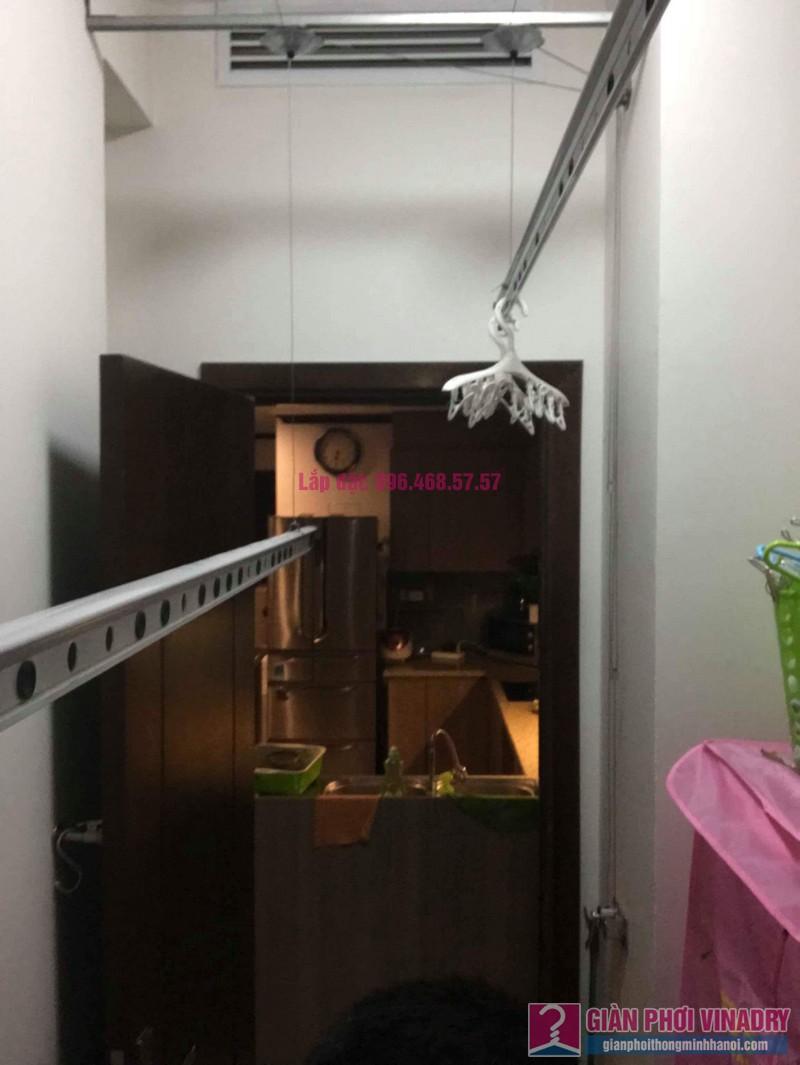 Thay dây cáp giàn phơi thông minh nhà chị Hải, chung cư Platinum Residences, Ba Đình, Hà Nội - 03