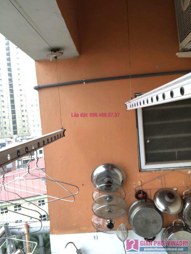 Sửa giàn phơi Duy Lợi, nhà chị Thanh, chung cư CT2B, KĐT Xa La, Hà Đông, Hà Nội - 04