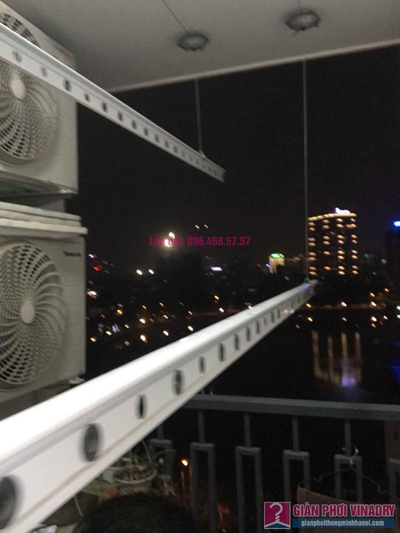 Thay dây cáp giàn phơi thông minh nhà chị Hải, chung cư Platinum Residences, Ba Đình, Hà Nội - 04
