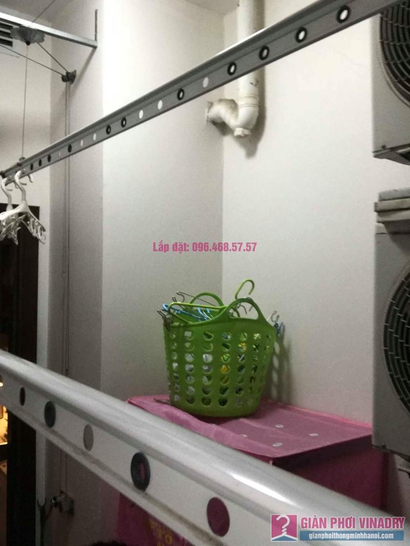 Thay dây cáp giàn phơi thông minh nhà chị Hải, chung cư Platinum Residences, Ba Đình, Hà Nội - 05