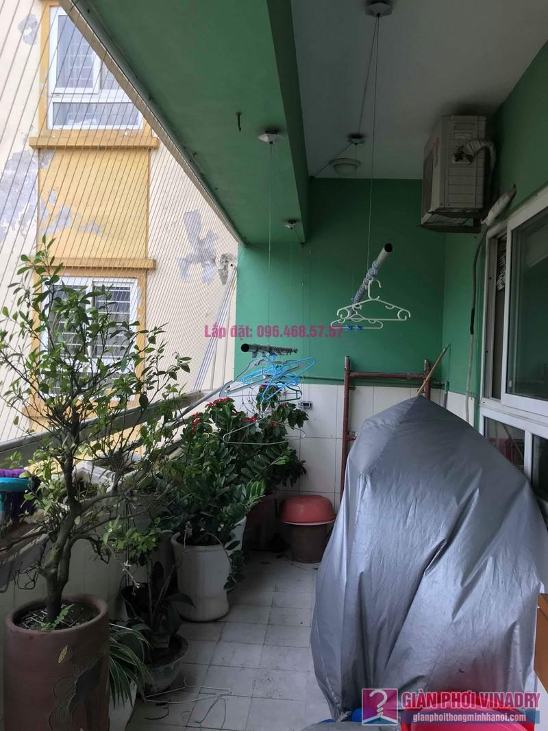 Sửa giàn phơi quần áo giá rẻ nhà chị Nhi, chung cư CT5, KĐT Mễ Trì Thượng, Nam Từ Liêm, Hà Nội- 08
