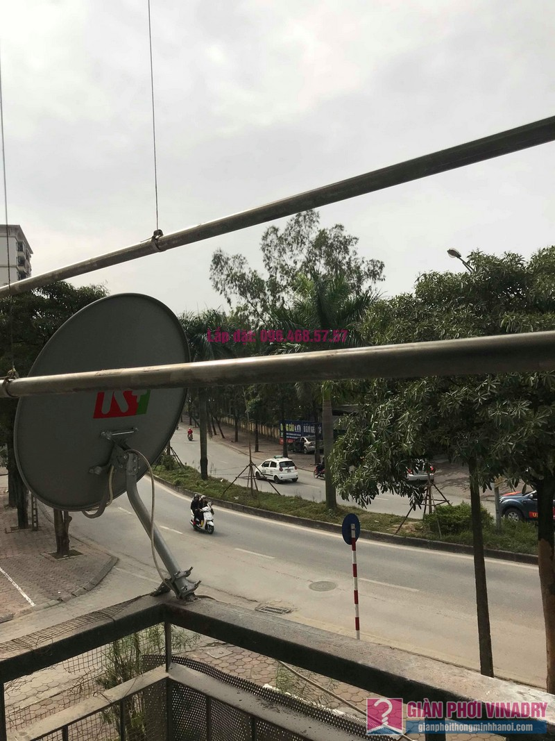 Sửa giàn phơi quần áo nhà chị Chuyên, căn 202 chung cư K8, KĐT Việt Hưng, Long Biên, Hà Nội - 08