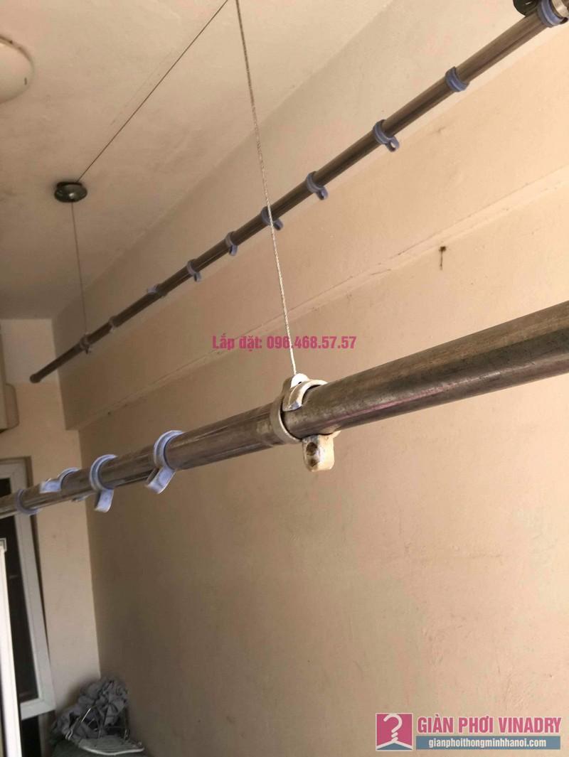 Sửa giàn phơi thông minh nhà anh Nam, chung cư 789 Bộ Quốc Phòng, Nam Từ Liêm, Hà Nội - 08