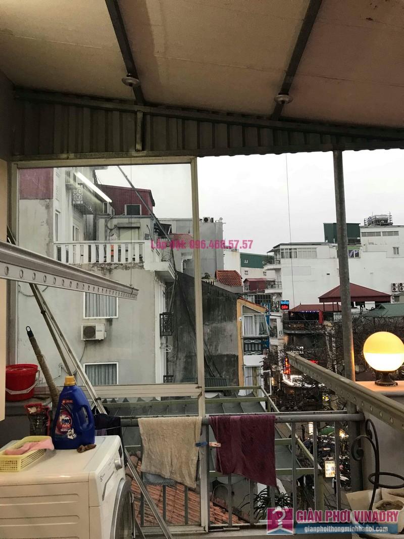 Sửa giàn phơi nhà anh Toàn, 58 Mã Mây, Hoàn Kiếm, Hà Nội - 08