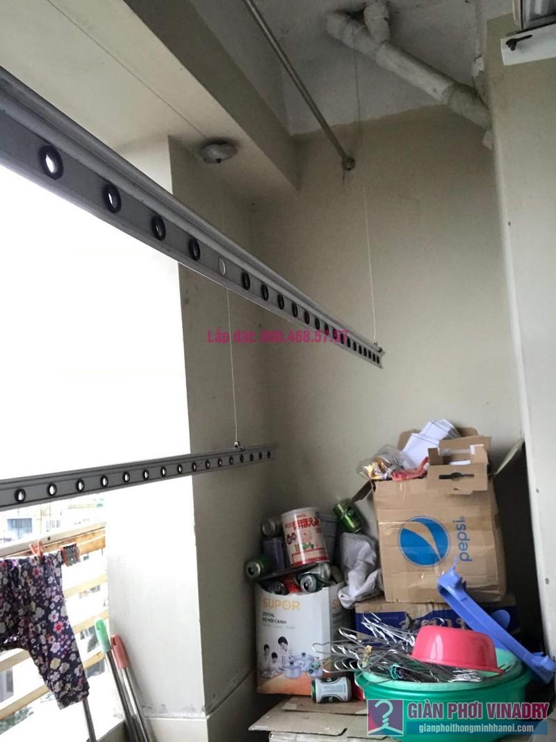 Thay dây cáp giàn phơi nhà chị Dung, Tòa CT10 chung cư Đại Thanh, Thanh Trì, Hà Nội - 09