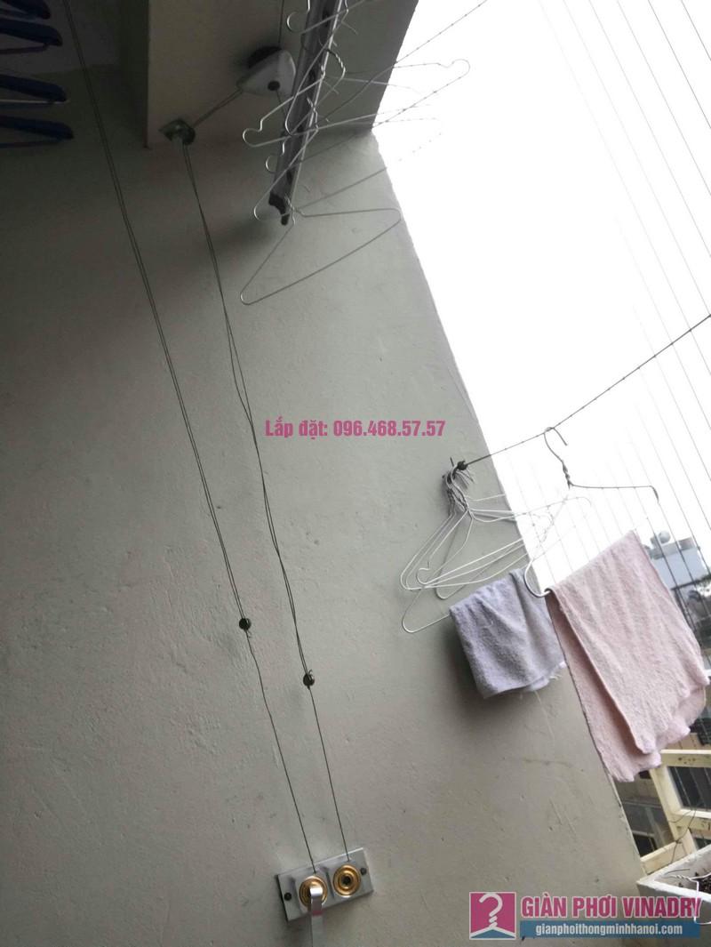 Thay hộp quay giàn phơi Hòa Phát 999B nhà chị Đào, chung cư 8B Đại Thanh, Thanh Trì, Hà Nội - 09