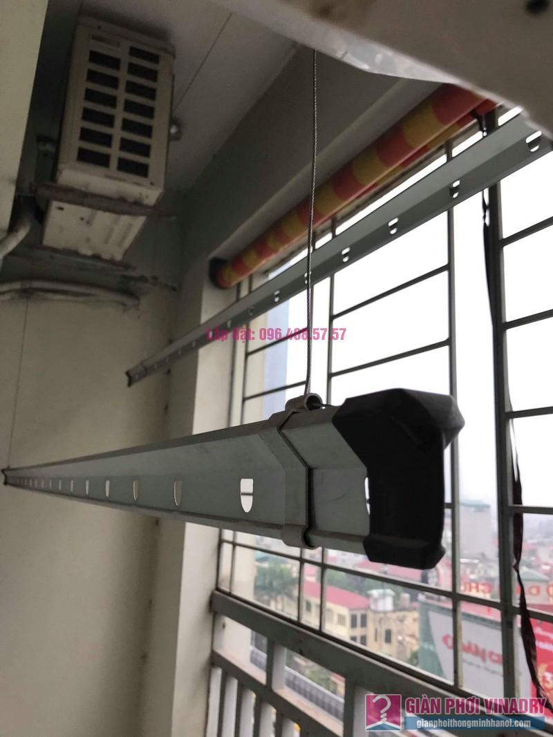 Sửa giàn phơi Hà Đông nhà chị Thắm, chung cư số 7 Trần Phú - 09