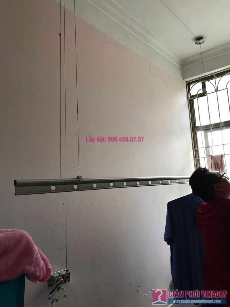 Sửa giàn phơi quần áo nhà anh Lý, chung cư C4, KĐT Mỹ Đình, Nam Từ Liêm, Hà Nội - 01
