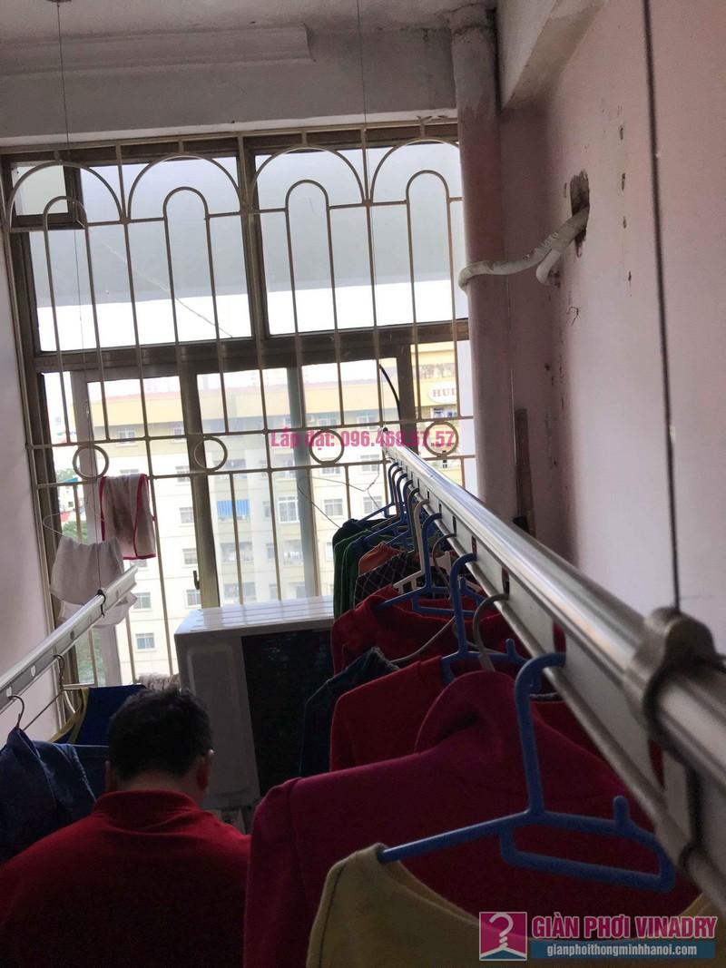 Sửa giàn phơi quần áo nhà anh Lý, chung cư C4, KĐT Mỹ Đình, Nam Từ Liêm, Hà Nội - 02