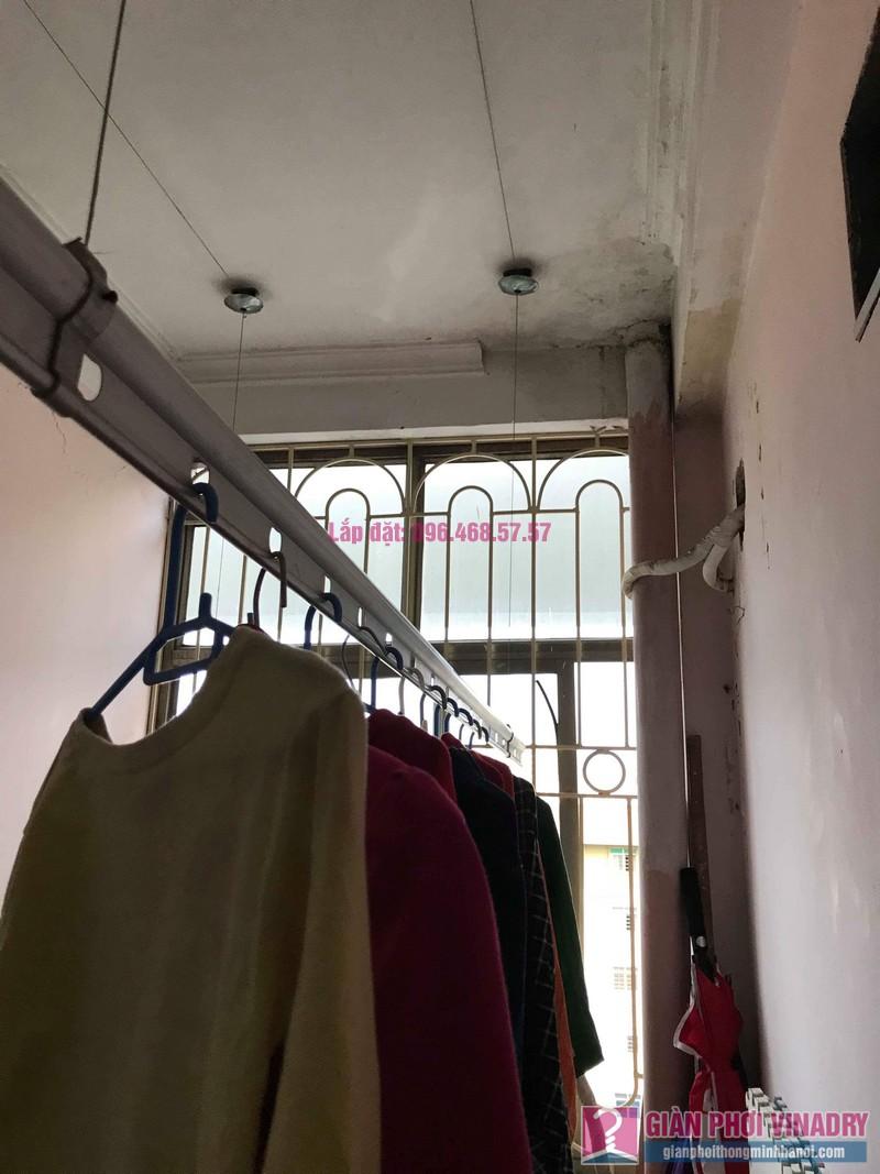 Sửa giàn phơi quần áo nhà anh Lý, chung cư C4, KĐT Mỹ Đình, Nam Từ Liêm, Hà Nội - 03