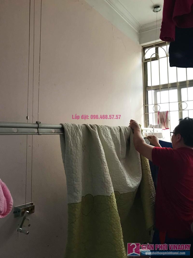 Sửa giàn phơi quần áo nhà anh Lý, chung cư C4, KĐT Mỹ Đình, Nam Từ Liêm, Hà Nội - 05