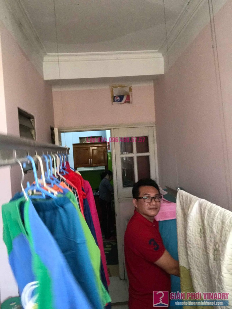 Sửa giàn phơi quần áo nhà anh Lý, chung cư C4, KĐT Mỹ Đình, Nam Từ Liêm, Hà Nội - 06