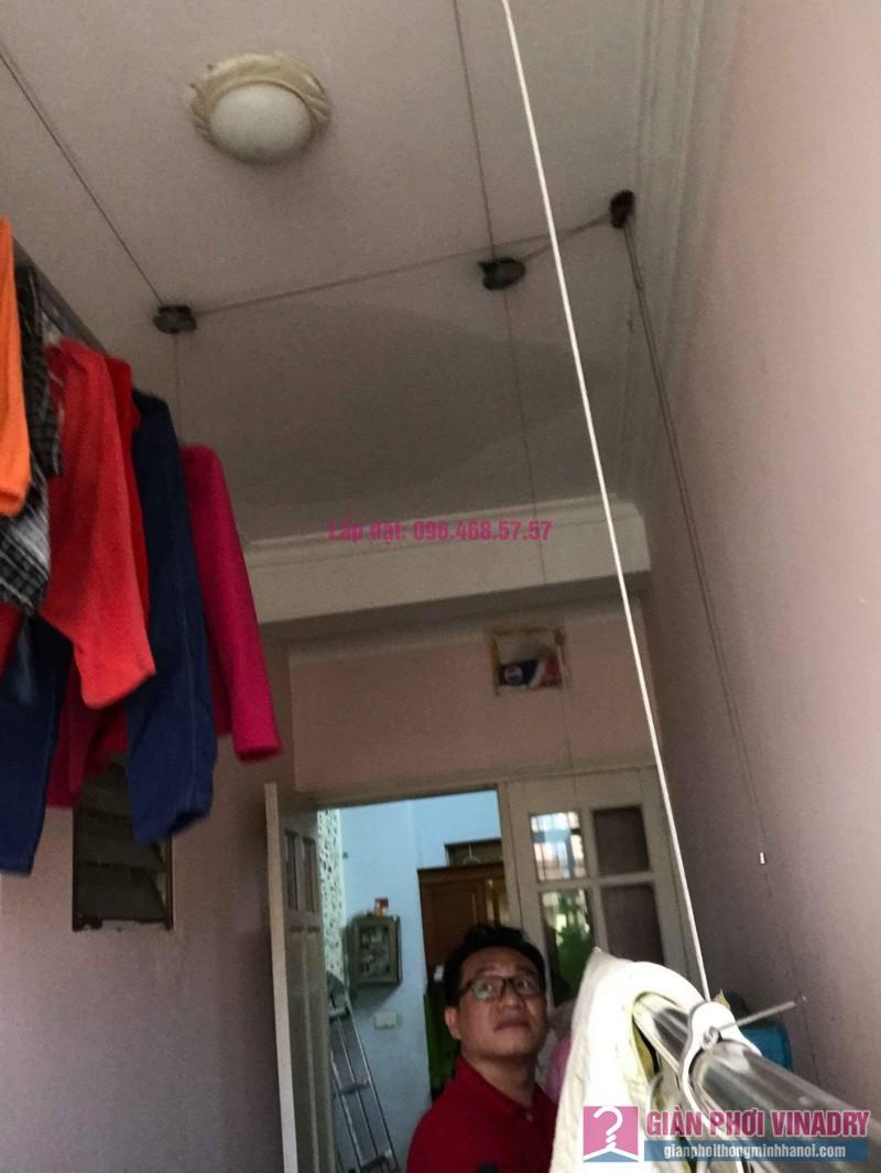 Sửa giàn phơi quần áo nhà anh Lý, chung cư C4, KĐT Mỹ Đình, Nam Từ Liêm, Hà Nội - 07