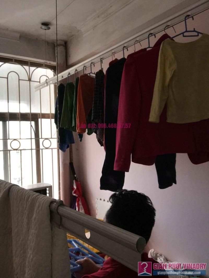Sửa giàn phơi quần áo nhà anh Lý, chung cư C4, KĐT Mỹ Đình, Nam Từ Liêm, Hà Nội - 08