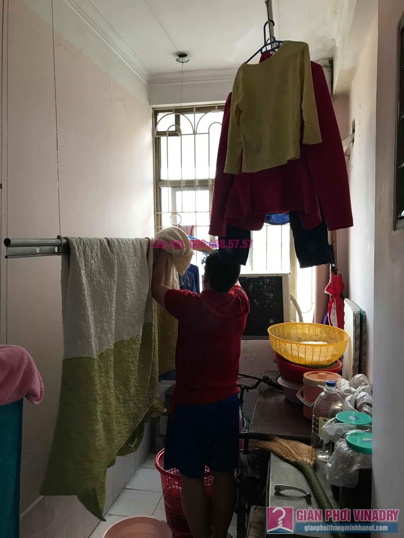 Sửa giàn phơi quần áo nhà anh Lý, chung cư C4, KĐT Mỹ Đình, Nam Từ Liêm, Hà Nội - 09