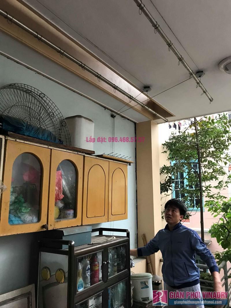 Sửa giàn phơi nhập khẩu nhà anh Tuấn, ngõ 2 Phạm Văn Đồng, Cầu Giấy, Hà Nội - 01