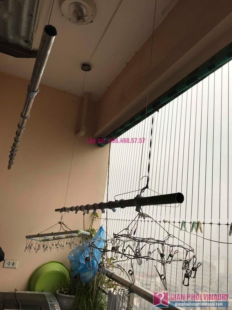 Sửa giàn phơi thông minh Hà Đông, nhà chị Vân, Tòa CT2 chung cư Nàng Hương - 02
