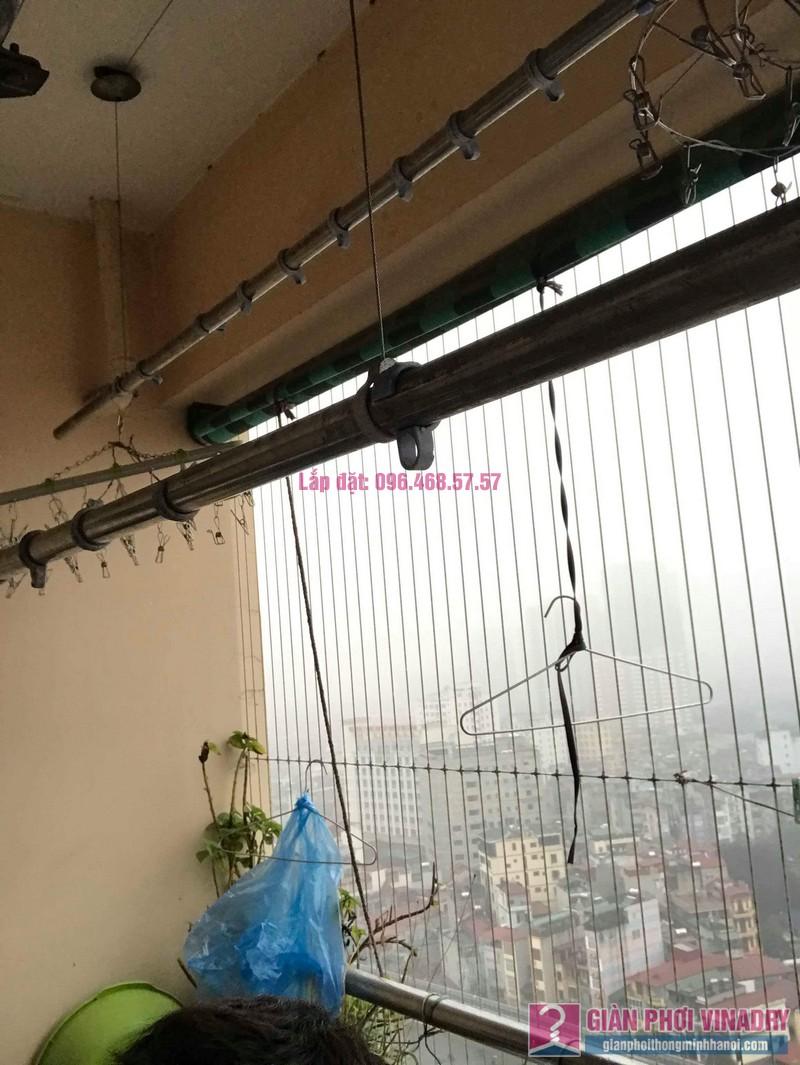 Sửa giàn phơi thông minh Hà Đông, nhà chị Vân, Tòa CT2 chung cư Nàng Hương - 04