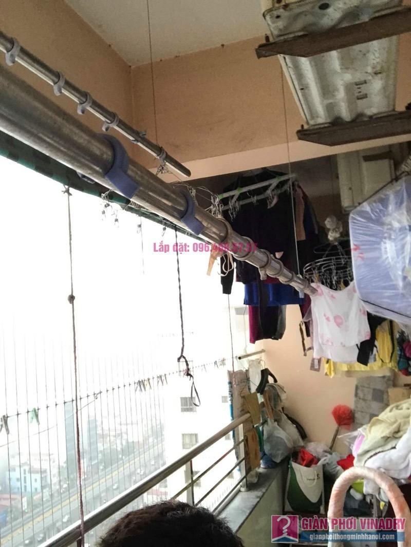 Sửa giàn phơi thông minh Hà Đông, nhà chị Vân, Tòa CT2 chung cư Nàng Hương - 05
