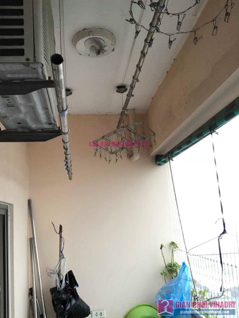 Sửa giàn phơi thông minh Hà Đông, nhà chị Vân, Tòa CT2 chung cư Nàng Hương - 07