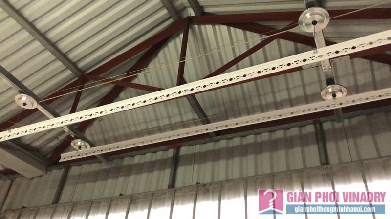 Lắp giàn phơi cho trần mái tôn nhà cô Khôi, ngách 10, ngõ 15 Gốc Đề, Minh Khai, Hà Nội - 06