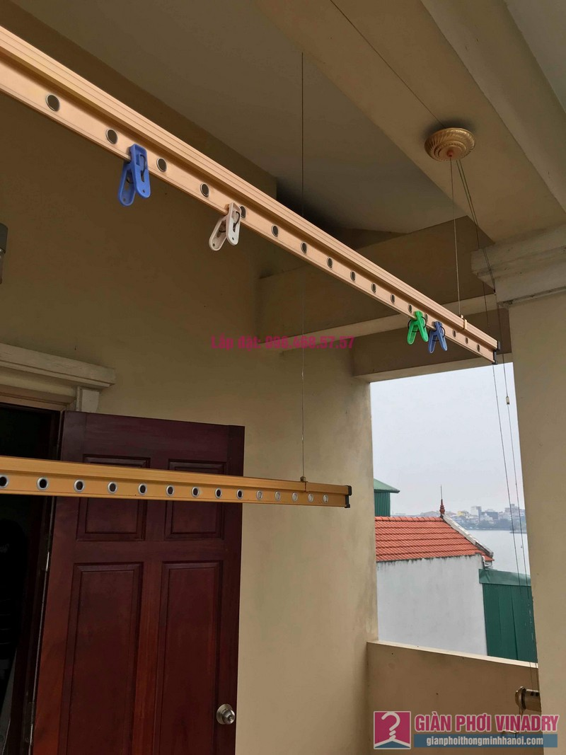 Sửa giàn phơi nhà anh Quân, ngõ 394 Lạc Long Quân, Tây Hồ, Hà Nội - 01