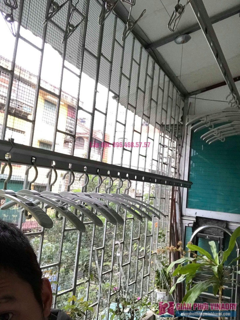 Sửa giàn phơi Ba Đình nhà anh Tài, P305, Khu tập thể Vĩnh Phúc - 02