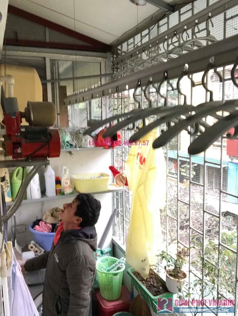 Sửa giàn phơi Ba Đình nhà anh Tài, P305, Khu tập thể Vĩnh Phúc - 03