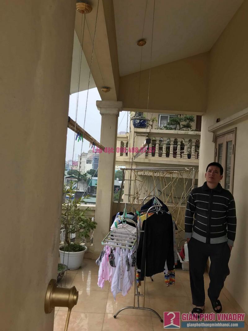 Sửa giàn phơi nhà anh Quân, ngõ 394 Lạc Long Quân, Tây Hồ, Hà Nội - 03