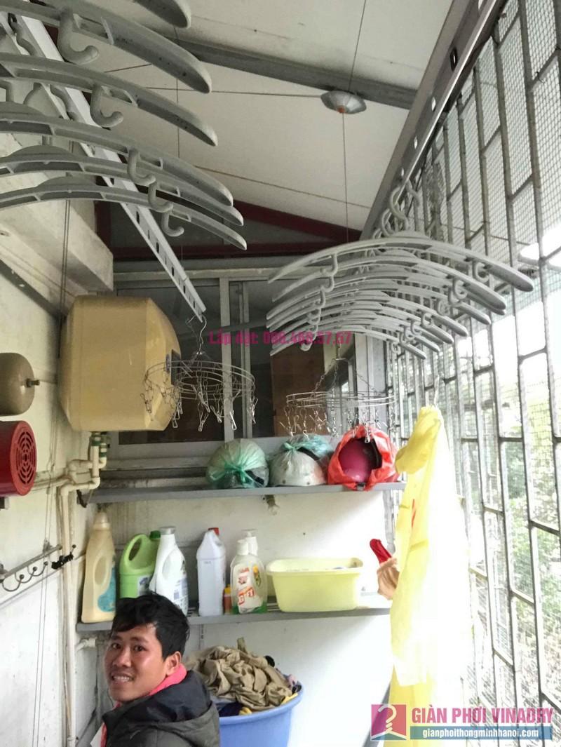 Sửa giàn phơi Ba Đình nhà anh Tài, P305, Khu tập thể Vĩnh Phúc - 04