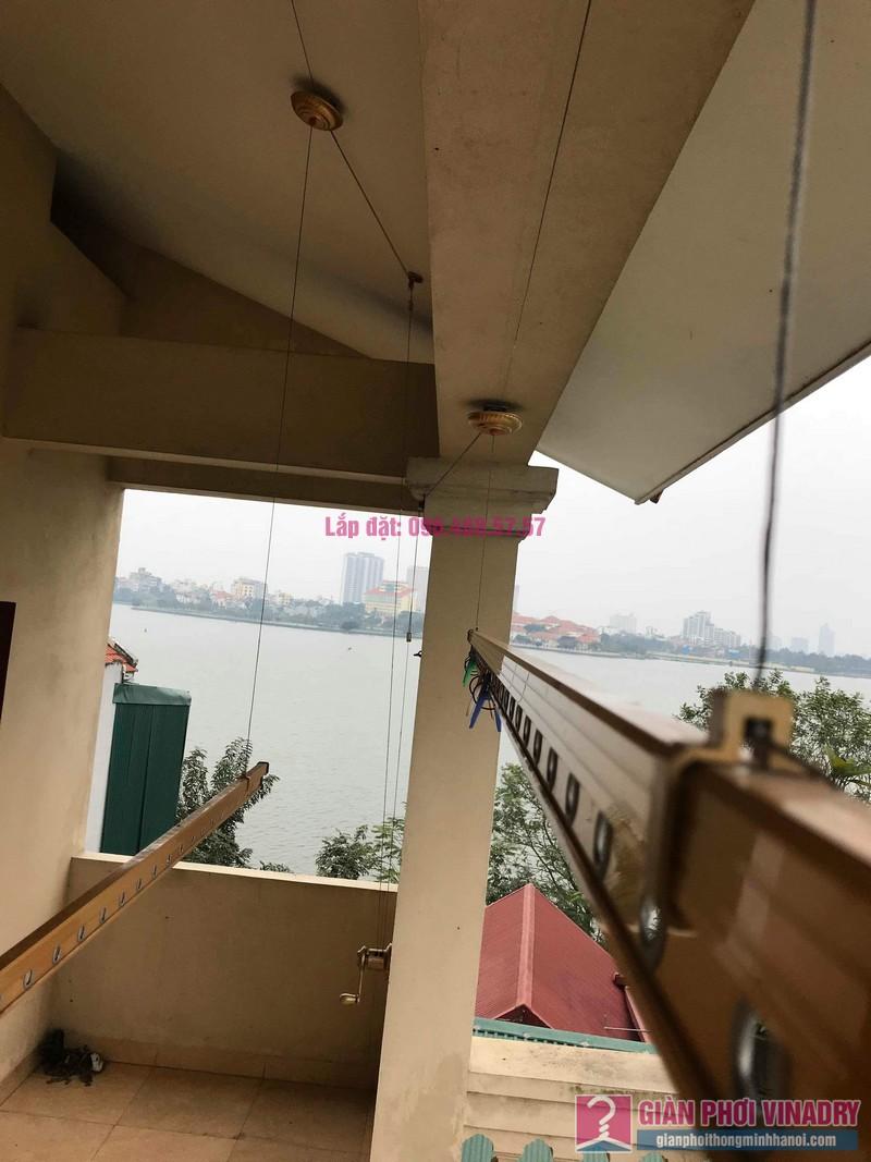 Sửa giàn phơi nhà anh Quân, ngõ 394 Lạc Long Quân, Tây Hồ, Hà Nội - 06