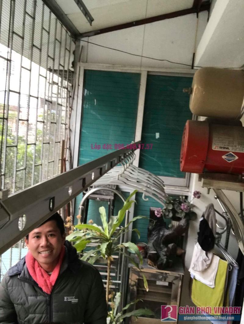 Sửa giàn phơi Ba Đình nhà anh Tài, P305, Khu tập thể Vĩnh Phúc - 07