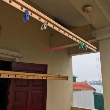 Sửa giàn phơi nhà anh Quân, ngõ 394 Lạc Long Quân, Tây Hồ, Hà Nội